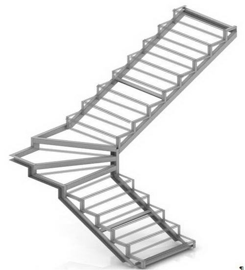Лестницы с забежными ступенями на 90 градусов своими руками